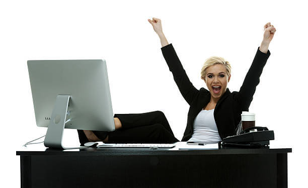 Cheerful businesswoman cheeringhttp://www.twodozendesign.info/i/1.png